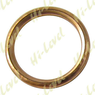 Honda CG 125 ES4 2004 (125 CC) - Copper Exhaust Gasket  (220140) 40mm -Quality