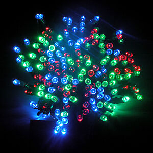 18M 100LED Solar Fairy Lights String Powered Waterproof Outdoor Festival Decor