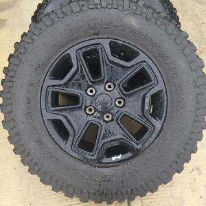 Jeep jk 5 tires and rims