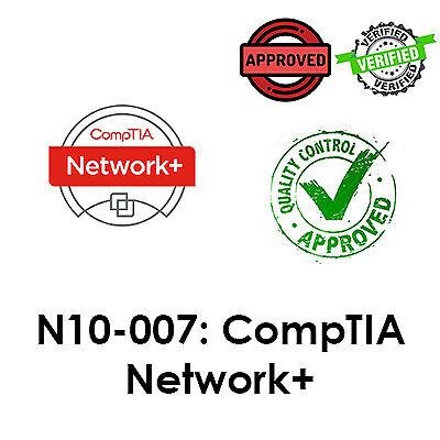2021 Updated N10-007, CompTIA Network+ Exam, PDF File, Dump