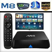 REAL UNLIMITED TV BOX *ANDROID M8 * XBMC+2GHz CPU+ WIFI +MORE