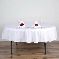 """White 90"""" tablecloth"""