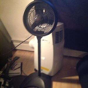 Black Honeywell 3-Speed Fan