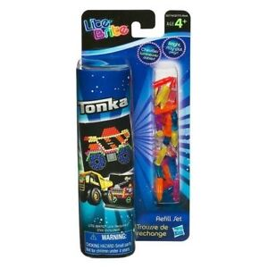 TONKA Truck Boy LITE BRITE colored PEGS/PICTURE Light Bright Refill Paper Sheets
