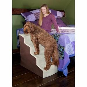 Easy Steps Deluxe Soft 4 Step Pet Stair by Pet Gear NEW