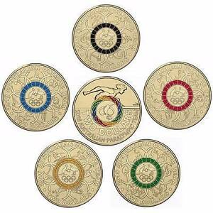 COMPLETE OLYMPIC $2 COIN SET Tuggerah Wyong Area Preview
