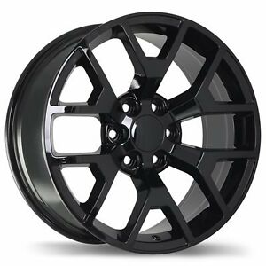 "20"" Replica Wheel Set Silverado Tahoe Sierra Yukon Escalade"