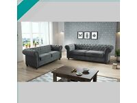 --CASH ON DELIVERY--NEW CHESTERFIELD 3+2 SEATER NOW IN STOCK