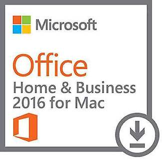 Microsoft Office for Mac Home & Business 2016 Lifetime License