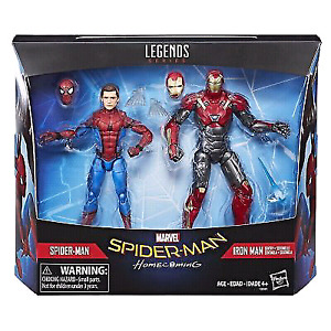 Marvel Legends Spider-Man Homecoming 2-pack with Iron Man