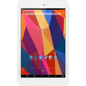 """*NEW* 8"""" Tablet PC - WINDOWS 10 + ANDROID 5.1 WHITE"""