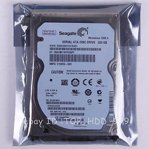 2.5 SATA Seagate Momentus 7200.4, 320 GB Laptop Hard Disk