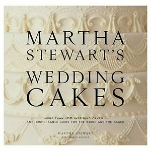 Martha Stewart's Wedding Cakes Hardcover Coffee Table Book