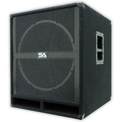 "SEISMIC AUDIO 18"" PA POWERED SUBWOOFER Speaker Active on Rummage"