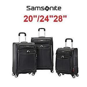 NEW SAMSONITE 3PC LUGGAGE SET 882528 244678759 20 24 28 VERSATILITY DUAL 360