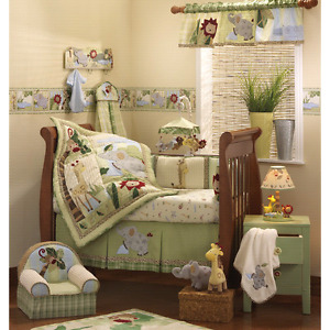 Lambs and ivy bedroom set