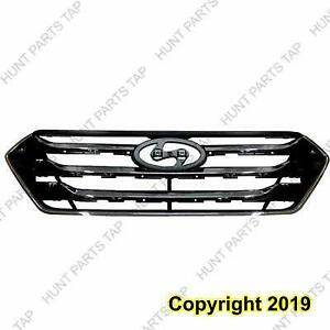 Grille Chrome/Black Sport Model (Not Include Any Loose Mouldings) Hyundai Santa Fe 2013-2016