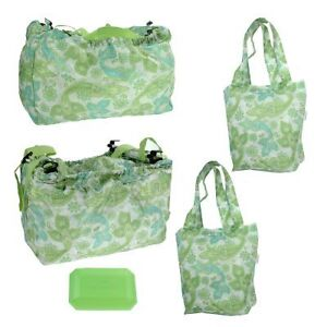 Sachi-Shop-Pack-Go-Set-Insulated-Clip-To-Shopping-Cart-Reusable-Tote-Bags