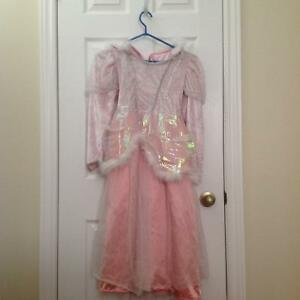 Pink princess dress size 8-10