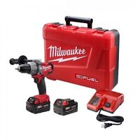 Milwaukee FUEL brushless hammer drill