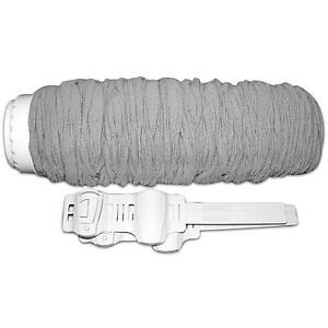 Ultra Stretch Central Hose Cover Grey With Super Grip Clips
