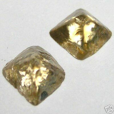 1.49 Carats SAWN OCTAHEDRON Natural Raw ROUGH DIAMONDS
