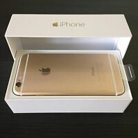 GOLD IPHONE 6 64gb - ROGERS - NEW IN BOX - BUY OR TRADE