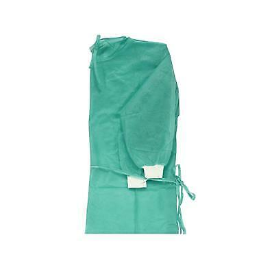 10 Pcs CE FDA Isolation Gown Protective Safety Disposable Gowns