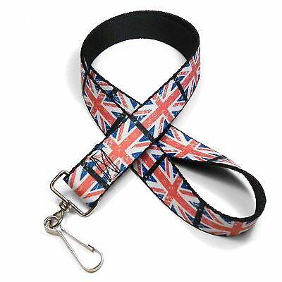United Kingdom Union Jack Flag Lanyard for MINI