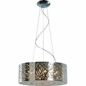 Livingston 9-Light Drum Pendant