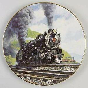 1985 PRR Christian Bell Porcelain Ltd. Plate