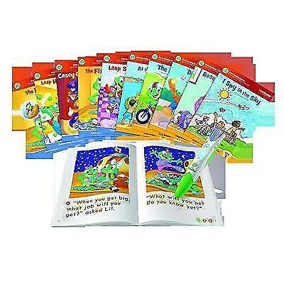 LeapFrog LeapReader System Learn to Read 10 Book Bundle New