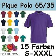 Fruit of The Loom Poloshirt Herren