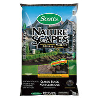 For Sale - 2 for $5 - Scotts Nature Scapes® 56.6L Black Mulch
