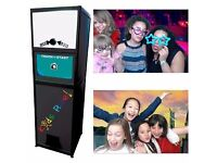 SELFIE/PHOTO BOOTH - 2 HRS ONLY £200 - UNLIMITED PRINTS/GREEN SCREEN/MANNED