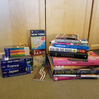 BULK TRAVEL BOOKS. LONELY PLANET. LUXE GUIDES ETC