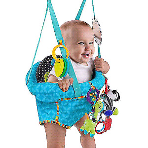 Bright Starts Bounce 'n Spring Deluxe Door Jumper New
