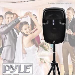 "NEW PYLE PRO 15"" PORTABLE SPEAKER - 133271496 - LOUDSPEAKER BLUETOOTH WIRELESS 2 MICS FM RADIO USB SD LCD MOBILE KARAOKE"