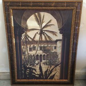 Bombay company picture print