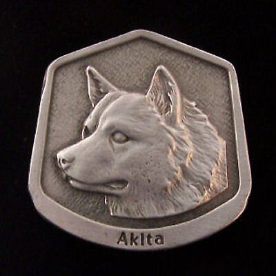 Akita Fine Pewter Dog Breed Ornament