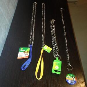 NEW!!  DOG  & CAT LEASHES, CHAINS  AND COLLARS