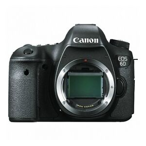 USA Canon EOS 6D 20.1 MP CMOS Digital SLR Camera with 3.0-Inch LCD (Body Only)