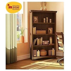 NEW SOUTH SHORE BOOKCASE 7356767A 155285402 GASCONY COLLECTION SUMPTUOUS CHERRY