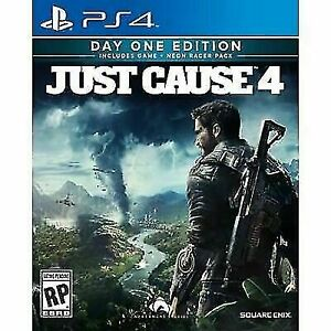 Just cause 4 ps4 , 40$