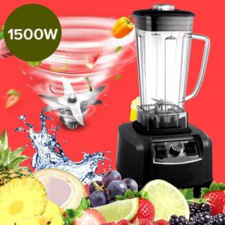 Commercial Blender Food Processor Mixer Smoothie  Ice Crusher