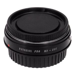Fotodiox Lens Mount Adapter, Minolta MD, MC Rokkor to Canon EOS  West Island Greater Montréal image 6
