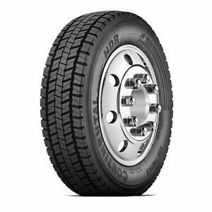 NEW 225/70R19.5 CONTINENTAL HDR DRIVE GRIP TIRES  SET OF 6 $1100 PLUS SHIPPING LOCATED IN CALGARY