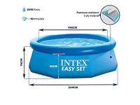 """Intex - Easy Set - 8' x 30"""" (244cm x 76cm) Pool"""
