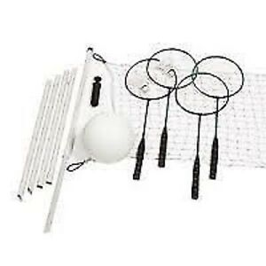 NEW: BADMINTON & VOLLEY BALL SET(IDEAL FOR CAMPING or PICNIC)