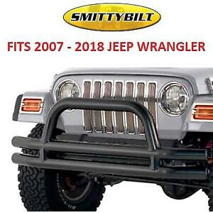 NEW* SMITTYBILT JEEP FRONT BUMPER JB48-FT 189110587 FOR 2007 TO 2018 JEEP WRANGLER